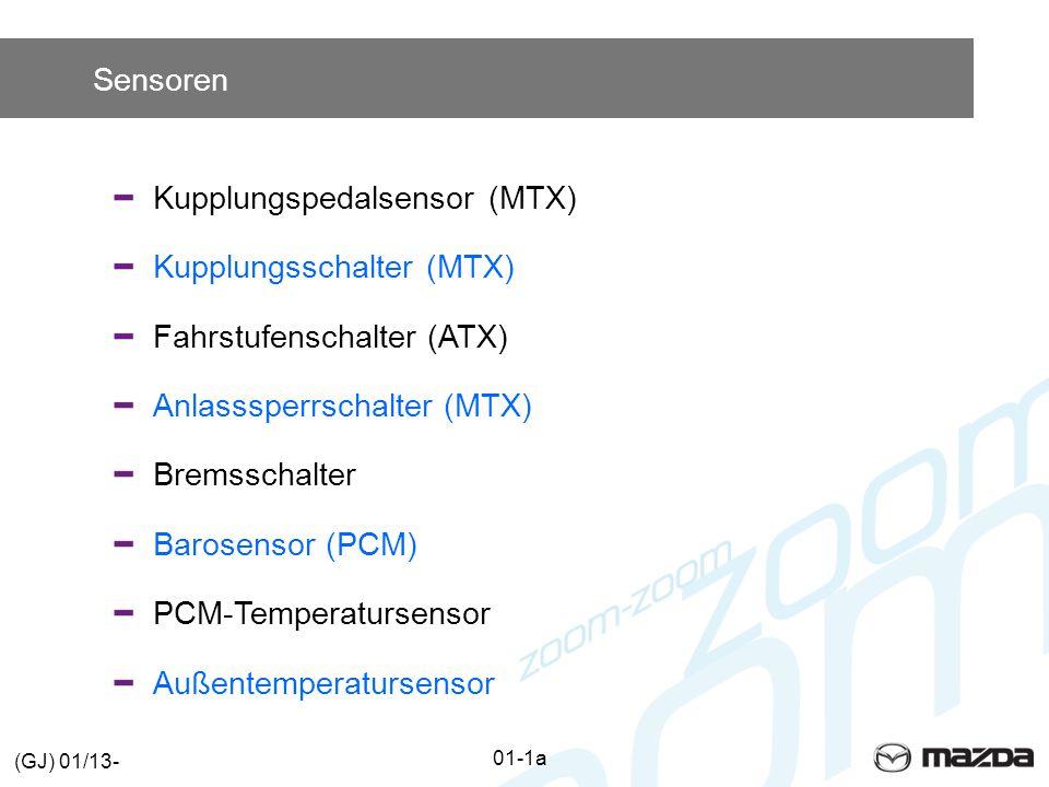 Kupplungspedalsensor (MTX) Kupplungsschalter (MTX)