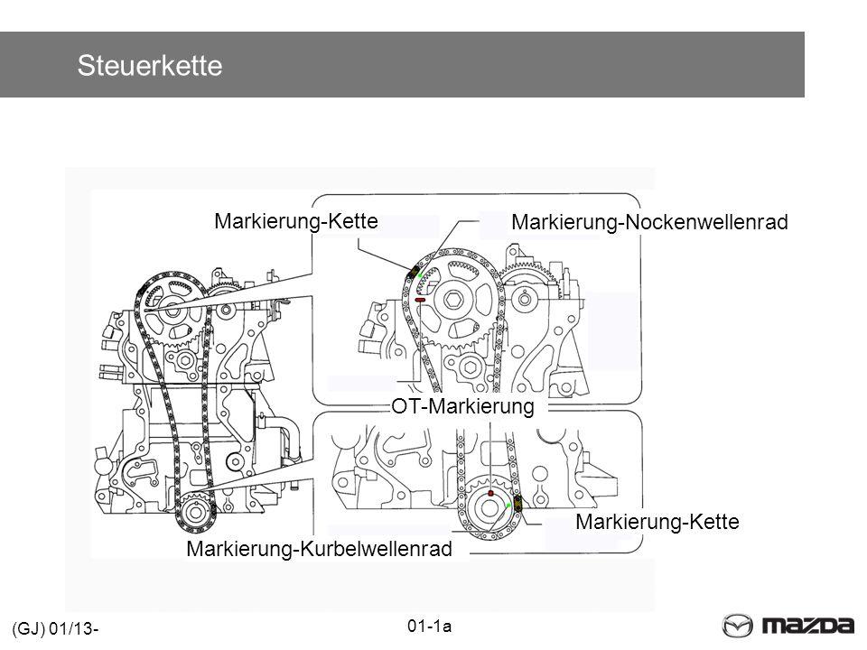 Steuerkette Markierung-Kette Markierung-Nockenwellenrad OT-Markierung