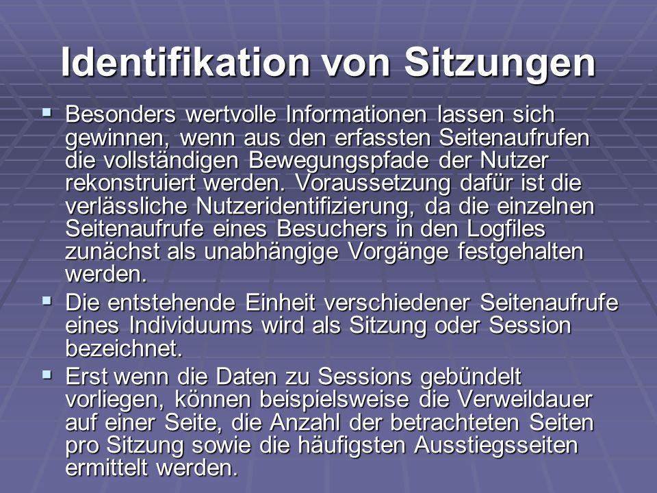 Identifikation von Sitzungen