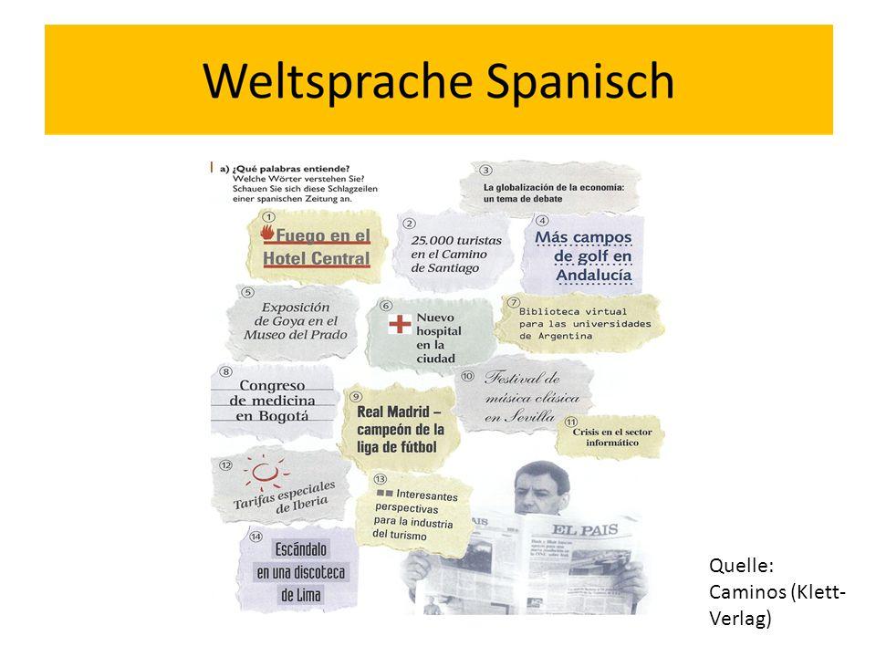 Quelle: Caminos (Klett-Verlag)