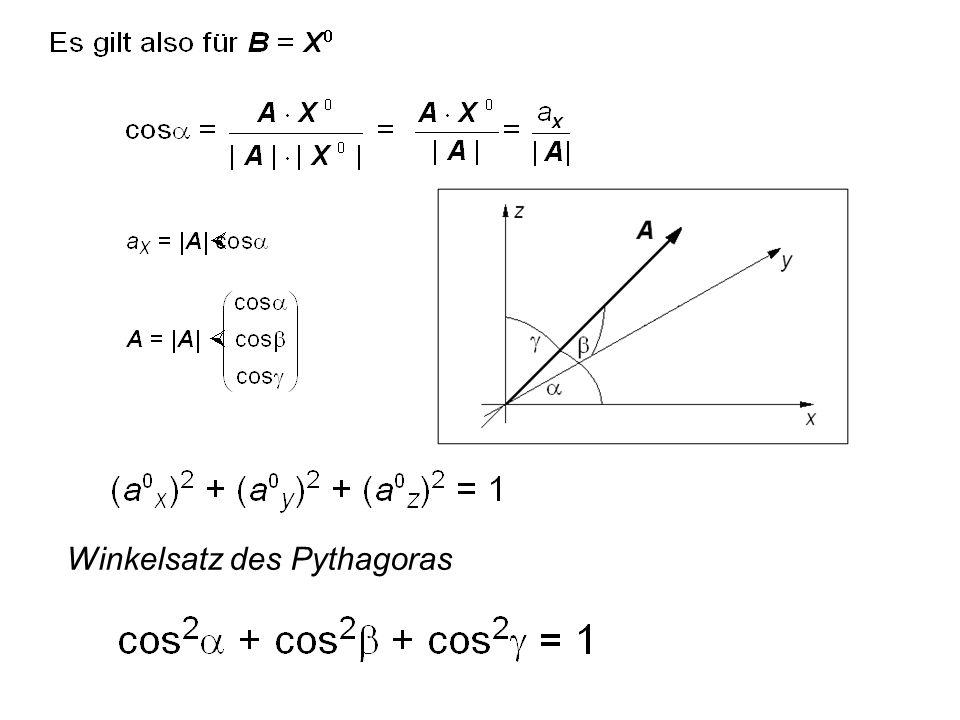 Winkelsatz des Pythagoras