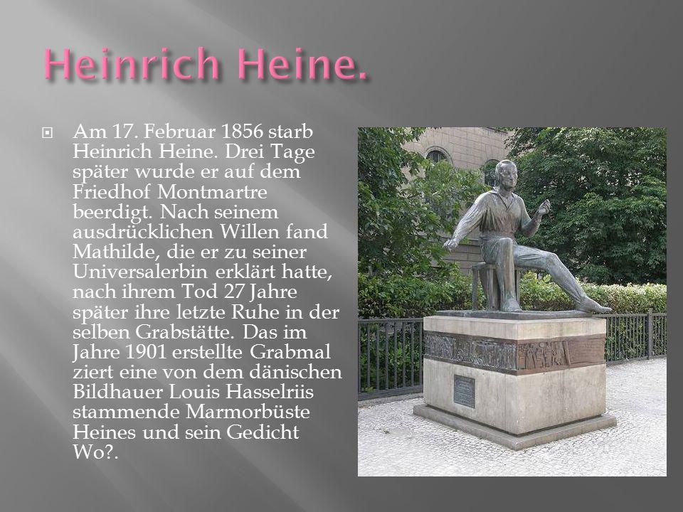 Heinrich Heine.