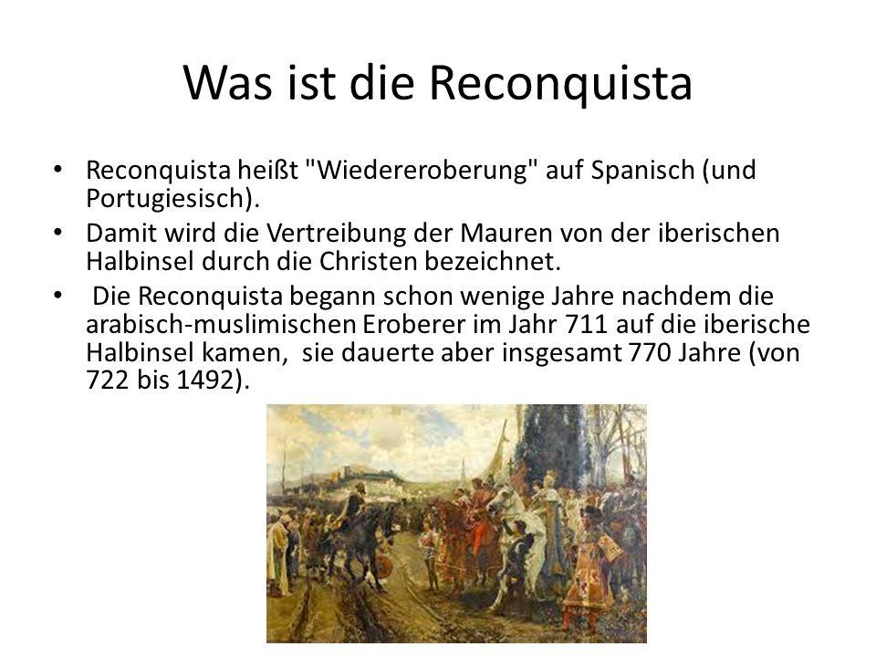 Was ist die Reconquista