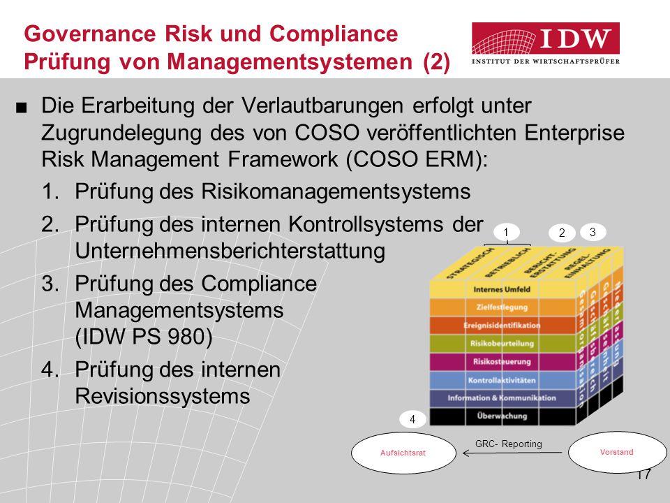 Governance Risk und Compliance Prüfung von Managementsystemen (2)