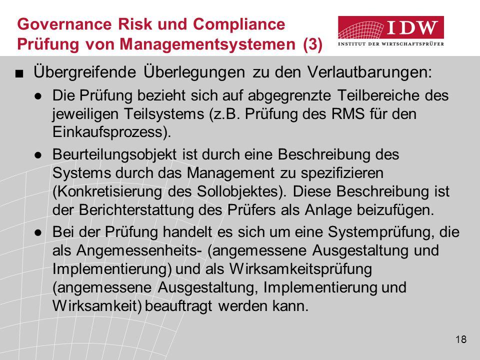 Governance Risk und Compliance Prüfung von Managementsystemen (3)