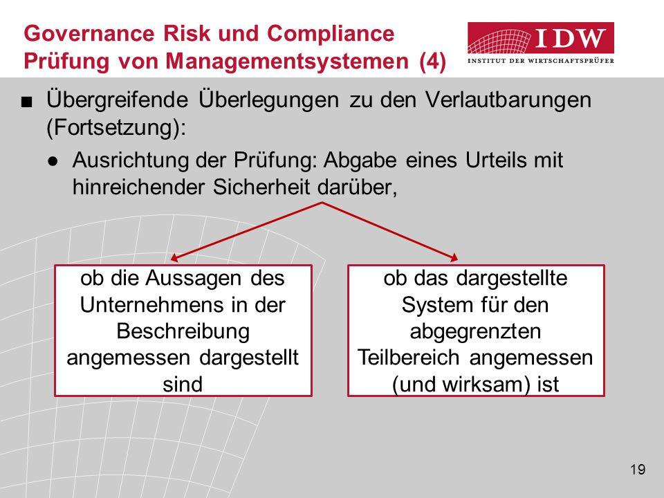 Governance Risk und Compliance Prüfung von Managementsystemen (4)