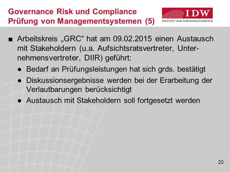 Governance Risk und Compliance Prüfung von Managementsystemen (5)