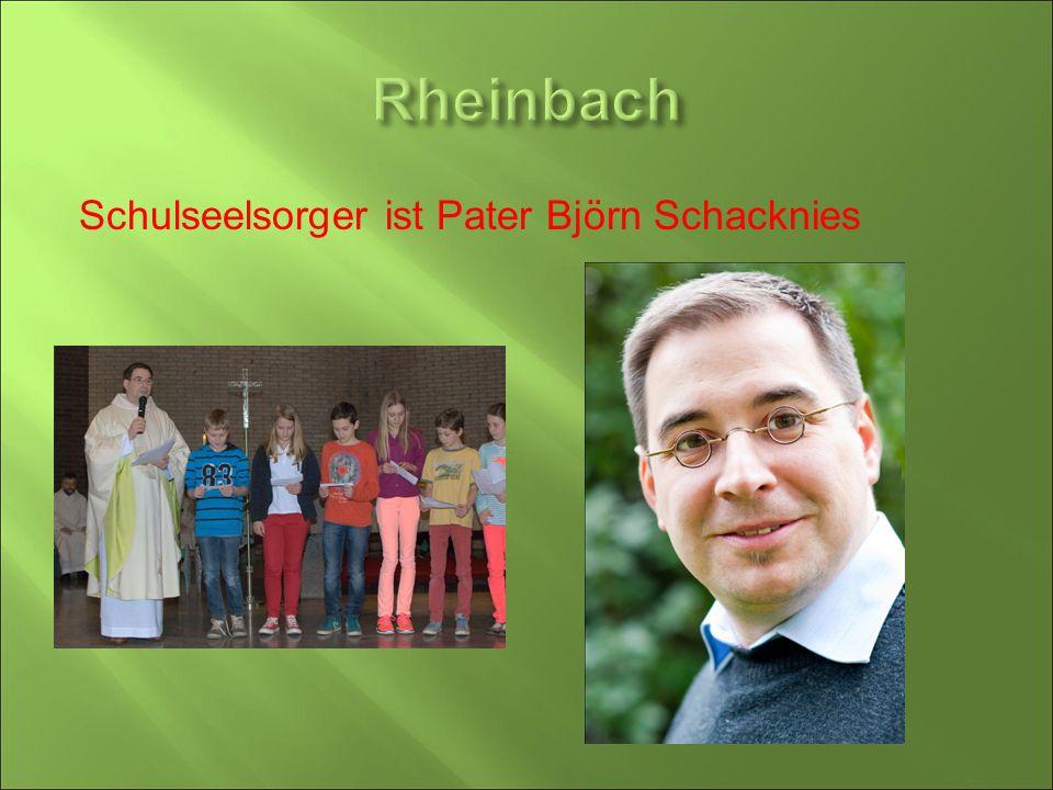 Rheinbach Schulseelsorger ist Pater Björn Schacknies