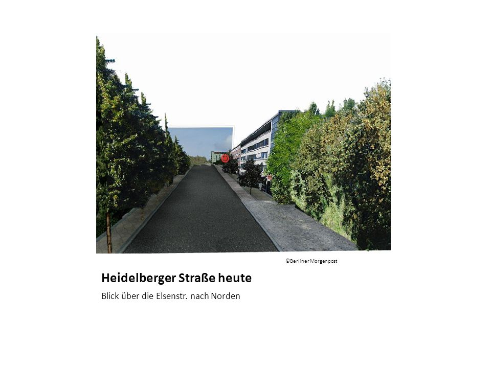 Heidelberger Straße heute