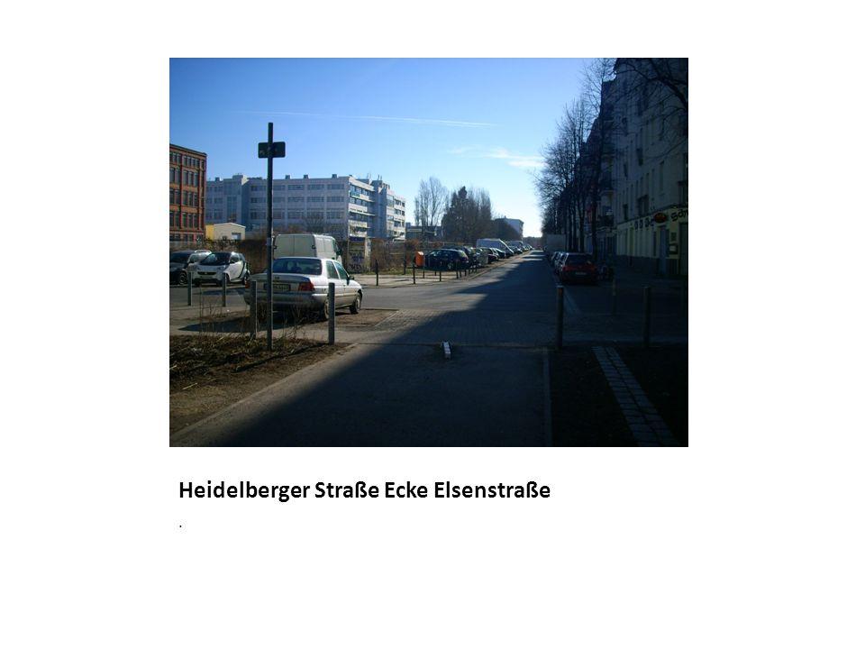 Heidelberger Straße Ecke Elsenstraße