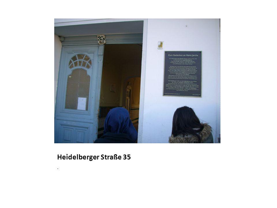Heidelberger Straße 35 .