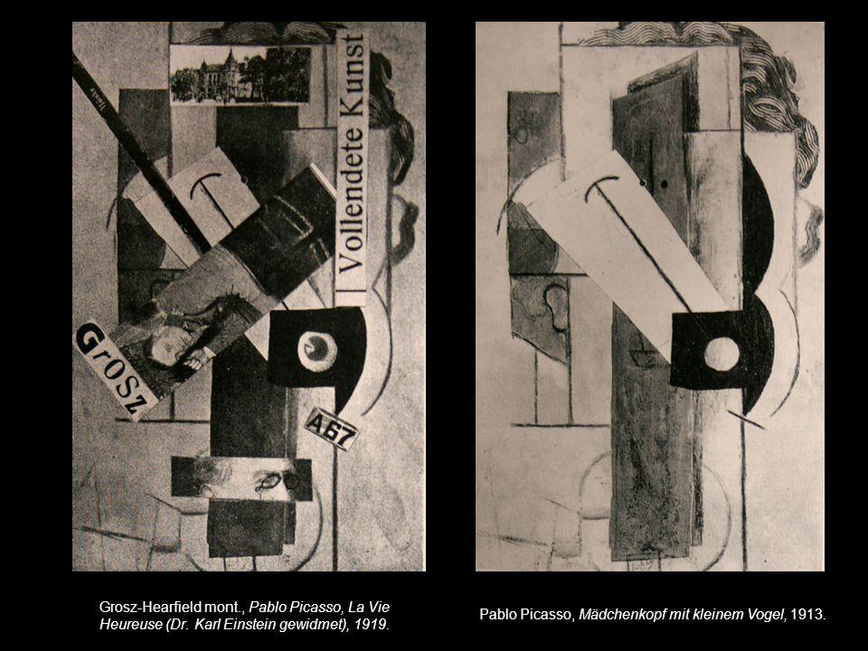 Grosz-Hearfield mont. , Pablo Picasso, La Vie Heureuse (Dr