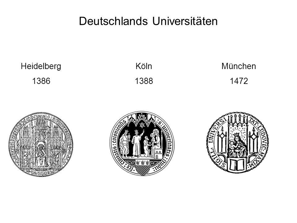 Deutschlands Universitäten