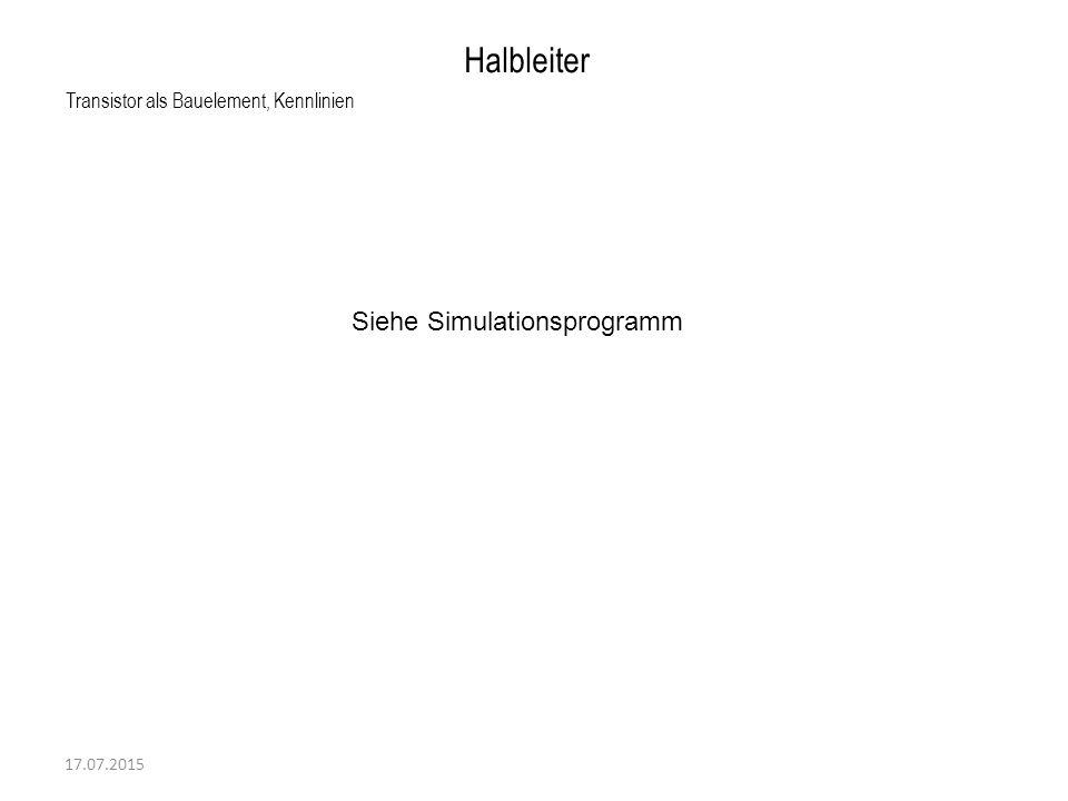 Halbleiter Siehe Simulationsprogramm