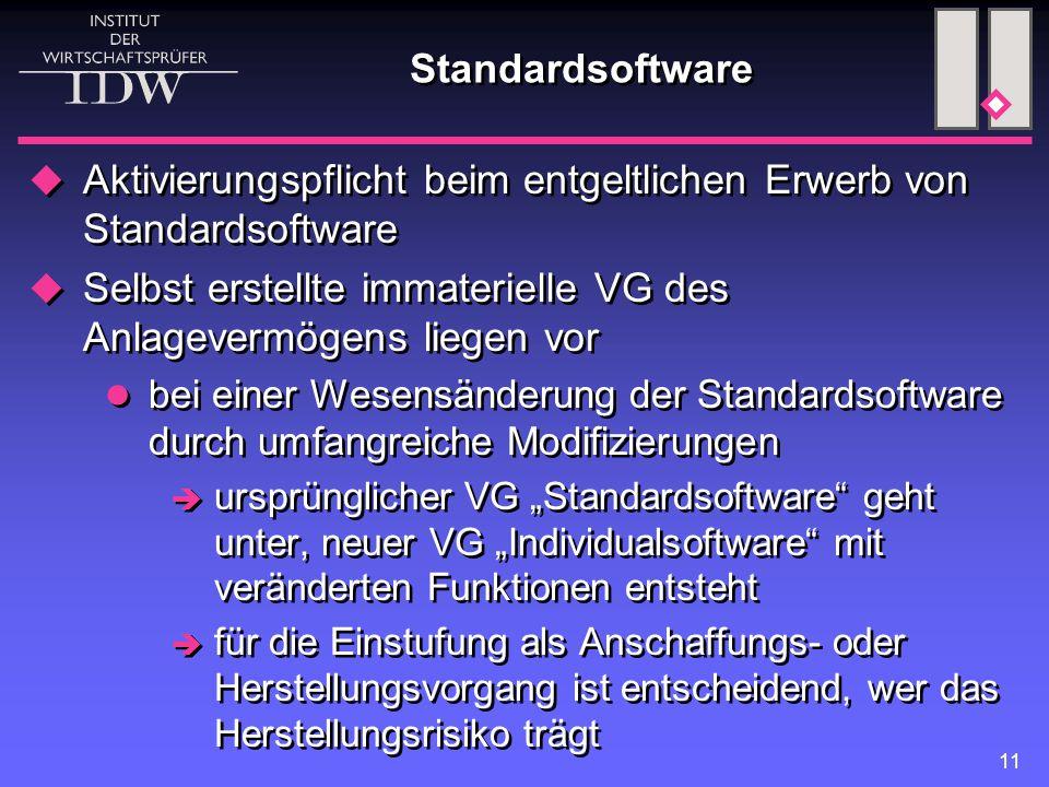 Aktivierungspflicht beim entgeltlichen Erwerb von Standardsoftware