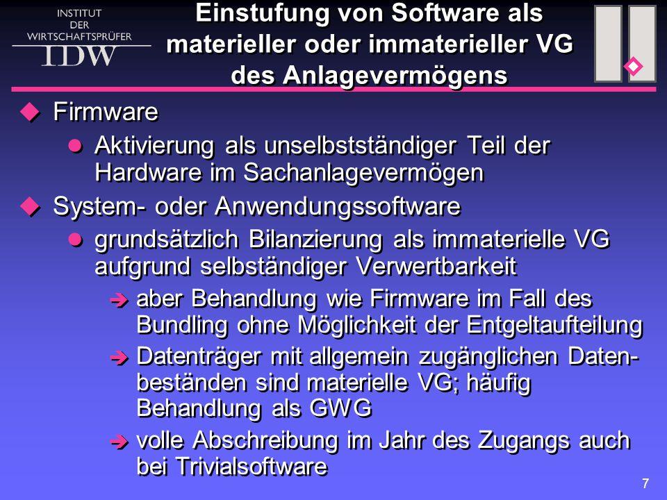 System- oder Anwendungssoftware