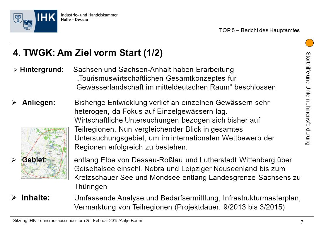 4. TWGK: Am Ziel vorm Start (1/2)