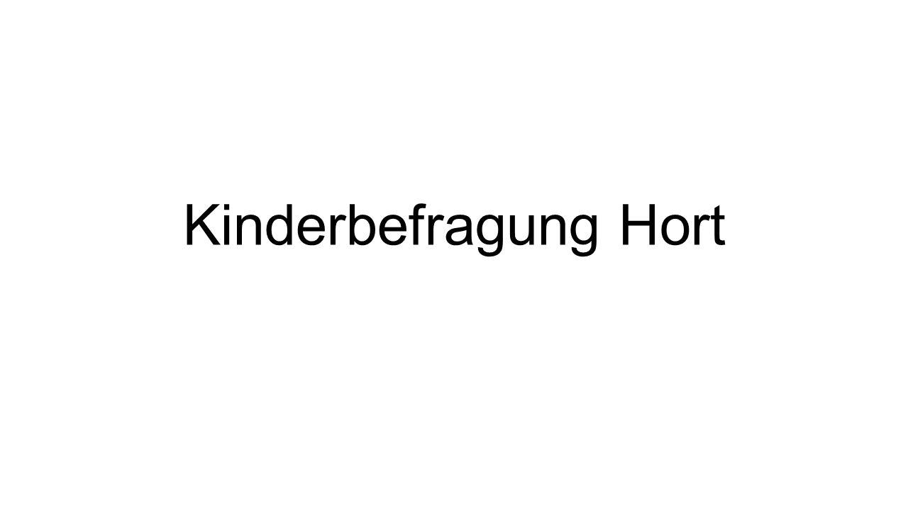 Kinderbefragung Hort