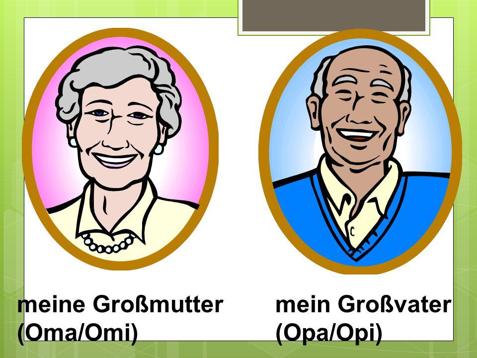 meine Großmutter (Oma/Omi)