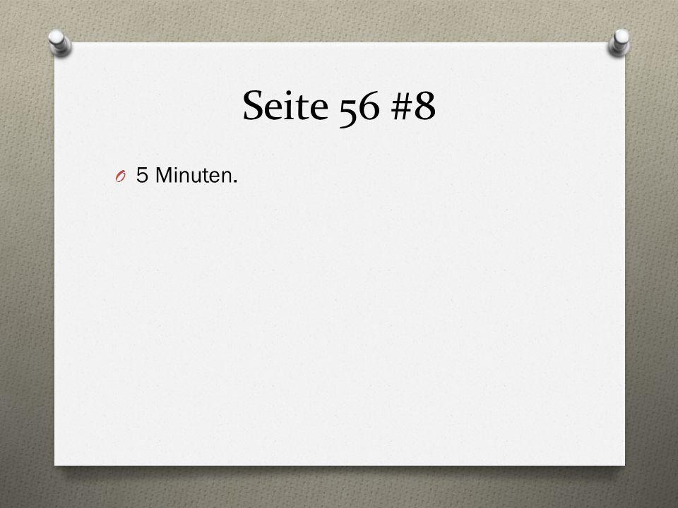 Seite 56 #8 5 Minuten.