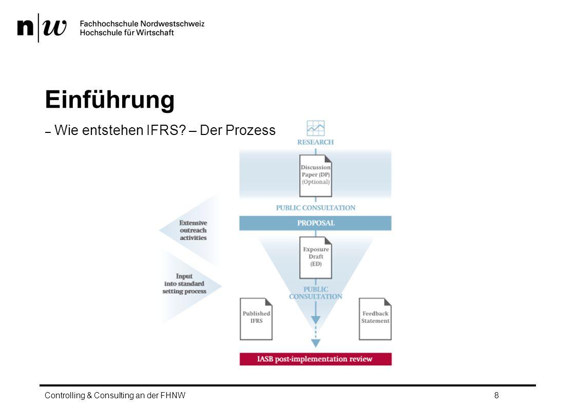 Einführung Wie entstehen IFRS – Der Prozess