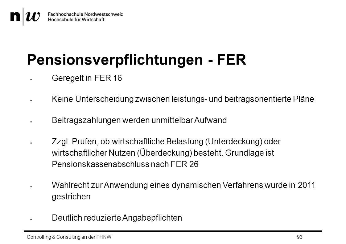 Pensionsverpflichtungen - FER