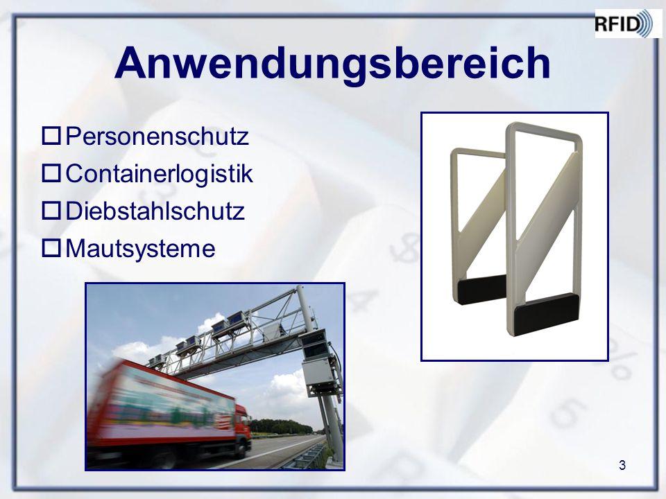 Anwendungsbereich Personenschutz Containerlogistik Diebstahlschutz