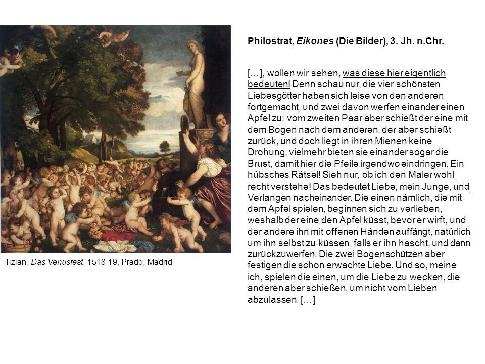 Philostrat, Eikones (Die Bilder), 3. Jh. n.Chr.