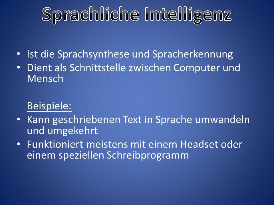 Sprachliche Intelligenz