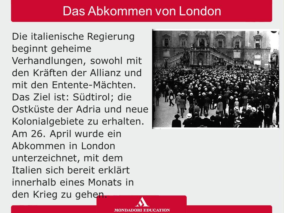 Das Abkommen von London