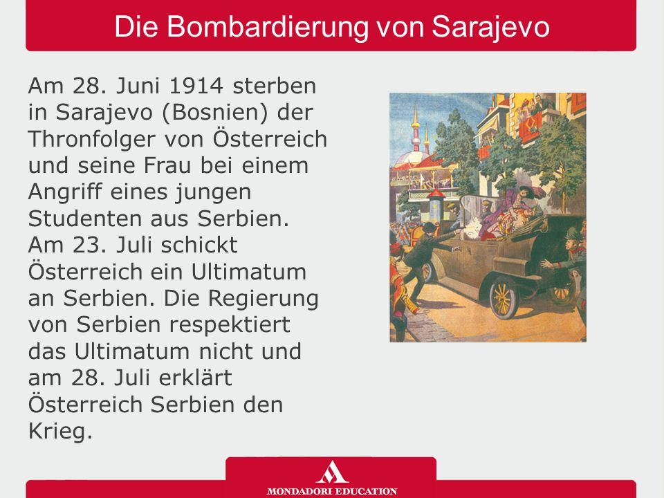Die Bombardierung von Sarajevo