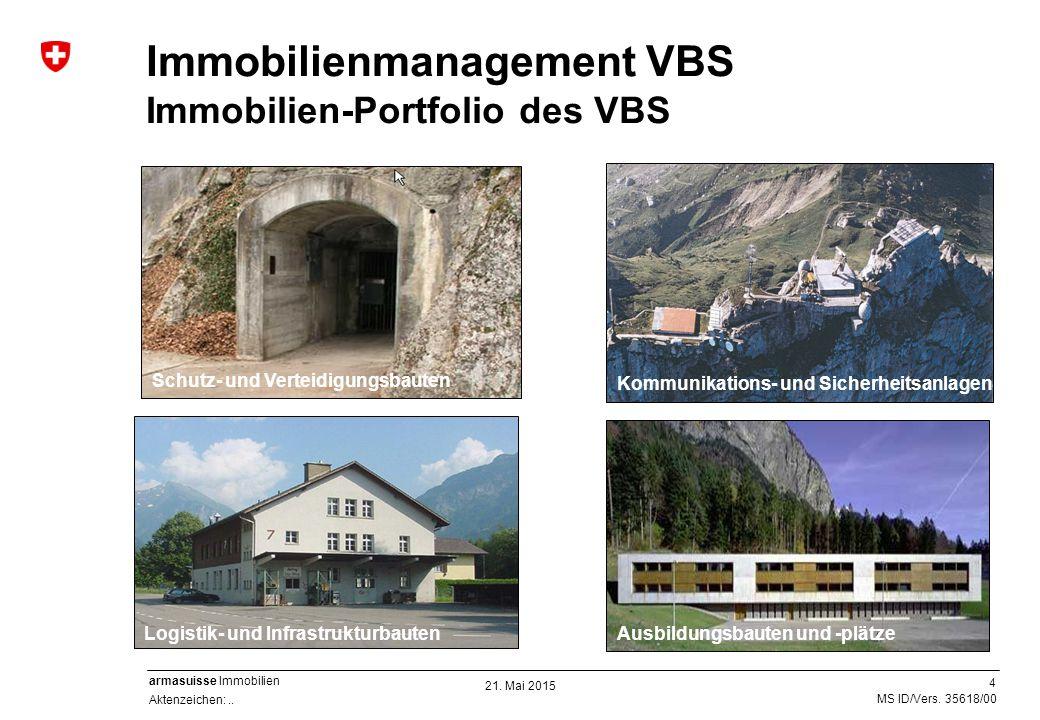 Immobilienmanagement VBS Immobilien-Portfolio des VBS