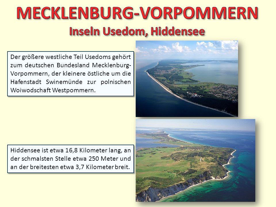 MECKLENBURG-VORPOMMERN Inseln Usedom, Hiddensee
