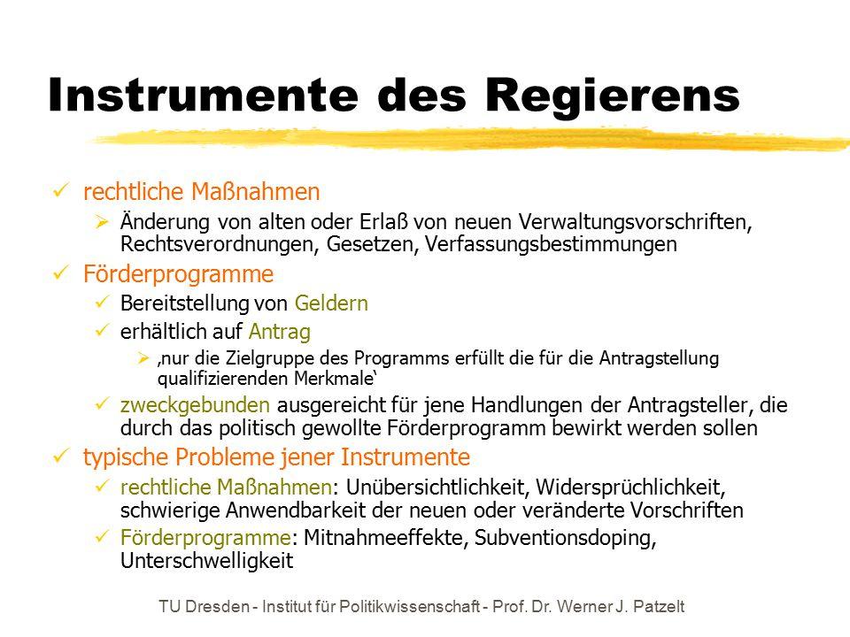Instrumente des Regierens