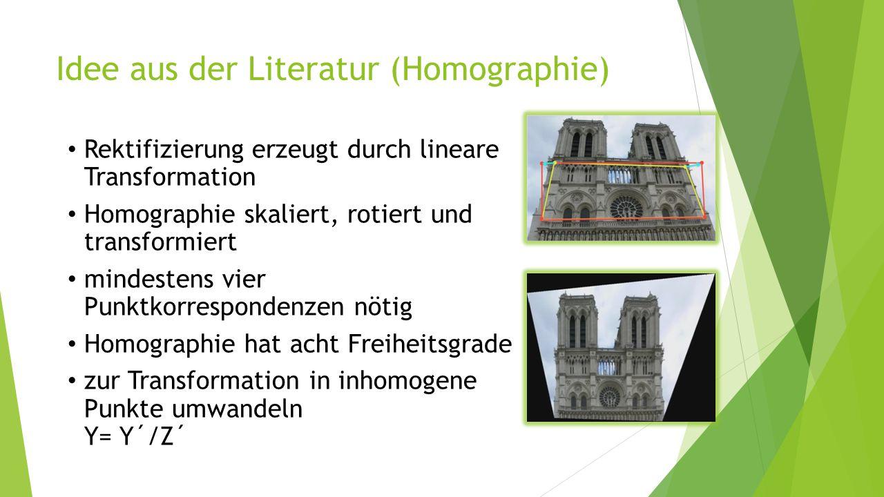 Idee aus der Literatur (Homographie)