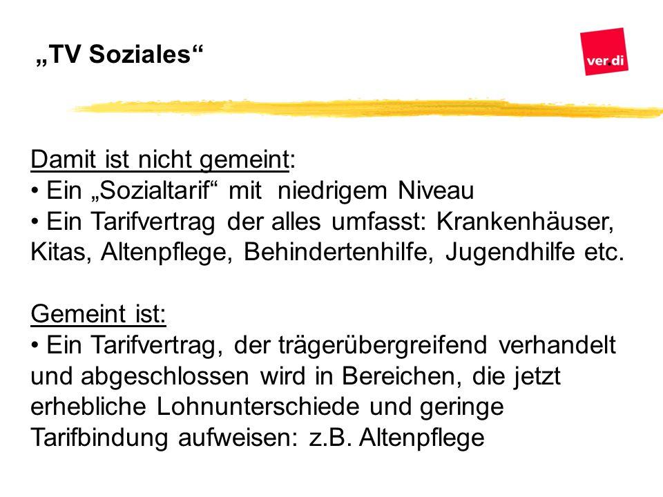 """""""TV Soziales Damit ist nicht gemeint: Ein """"Sozialtarif mit niedrigem Niveau."""
