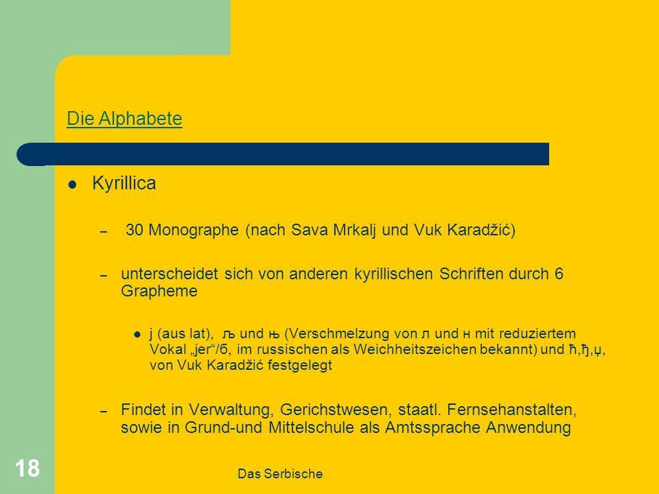 Die Alphabete Kyrillica