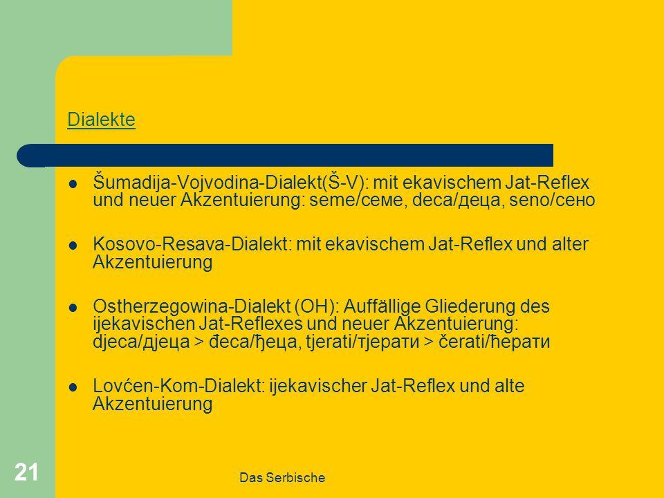 Lovćen-Kom-Dialekt: ijekavischer Jat-Reflex und alte Akzentuierung