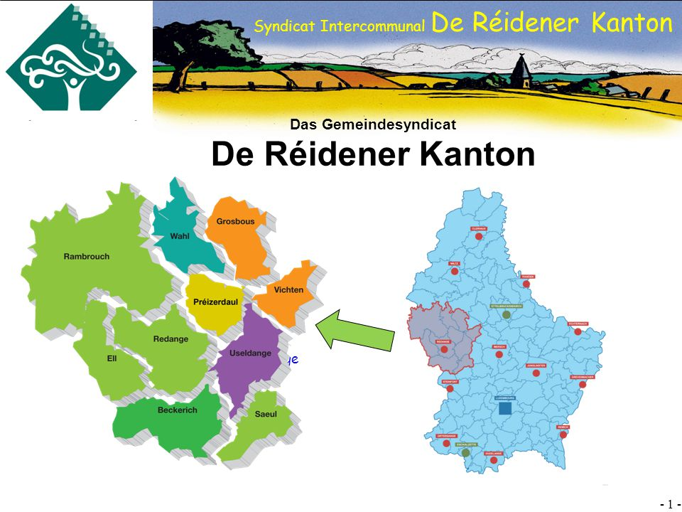 Das Gemeindesyndicat De Réidener Kanton