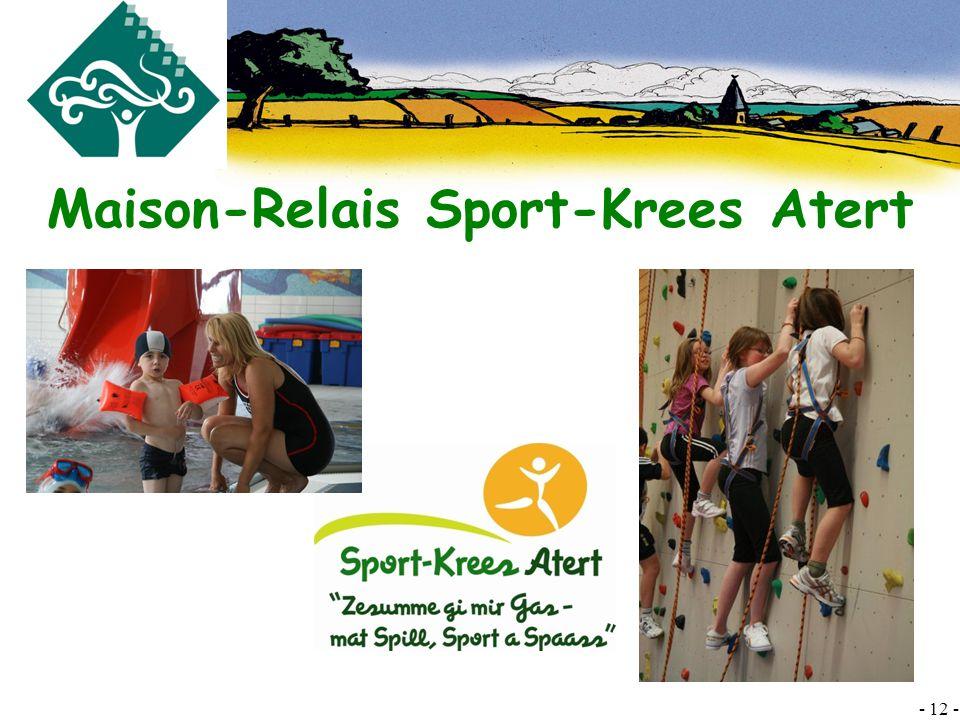 Maison-Relais Sport-Krees Atert