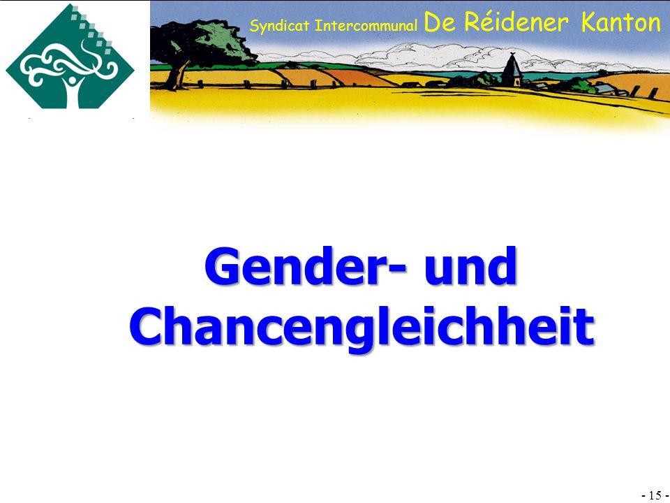 Gender- und Chancengleichheit