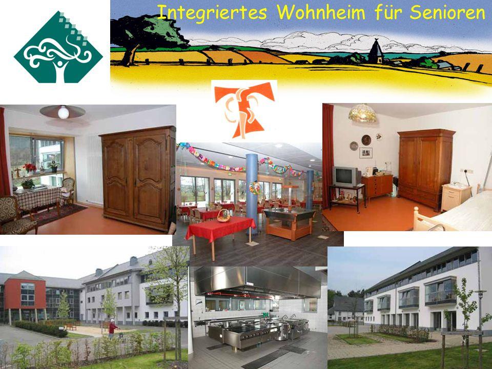 Integriertes Wohnheim für Senioren