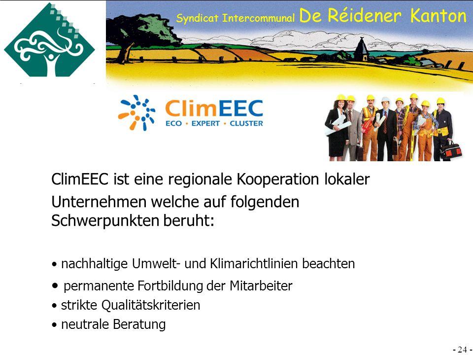 ClimEEC ist eine regionale Kooperation lokaler