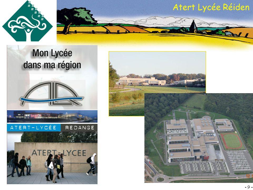 Atert Lycée Réiden