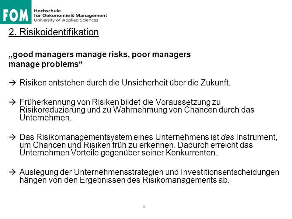 2. Risikoidentifikation