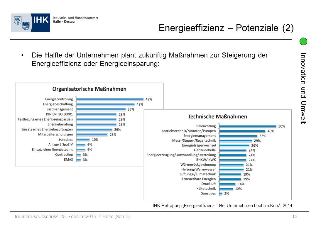Energieeffizienz – Potenziale (2)