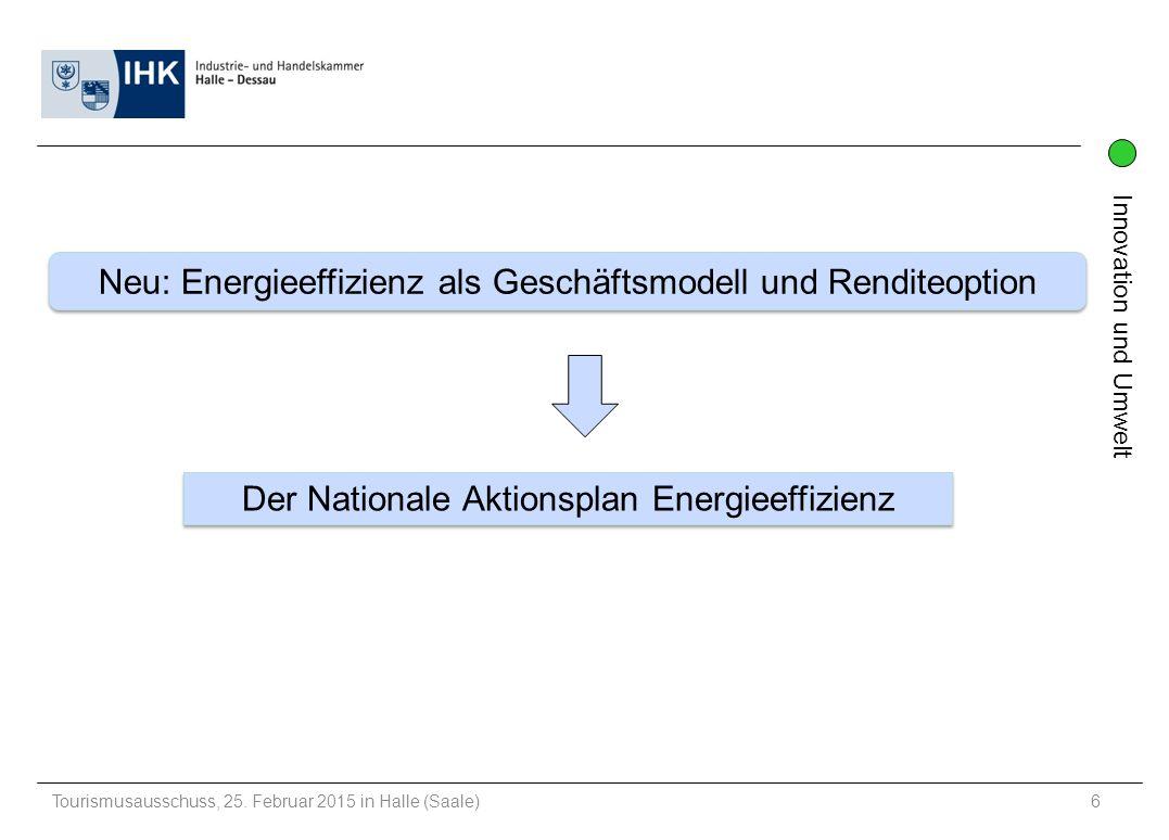 Neu: Energieeffizienz als Geschäftsmodell und Renditeoption