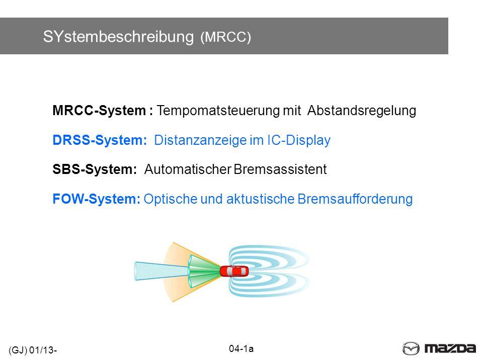 SYstembeschreibung (MRCC)