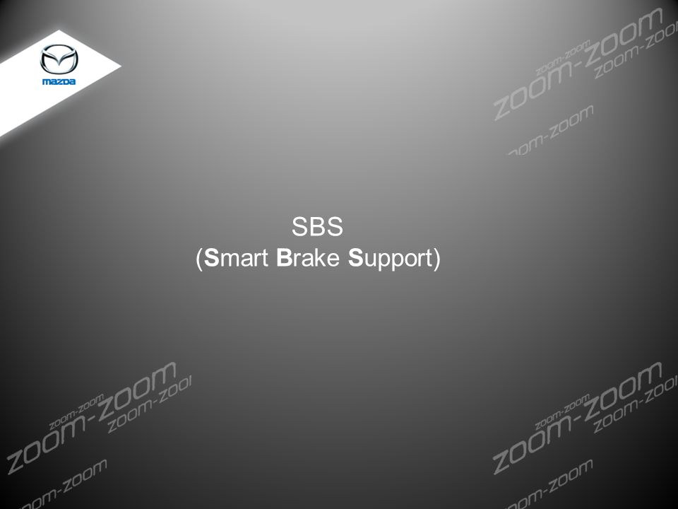 SBS (Smart Brake Support) DEV.FXX Storyboard Development