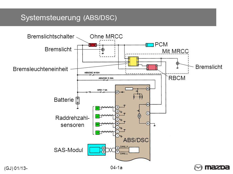 Systemsteuerung (ABS/DSC)